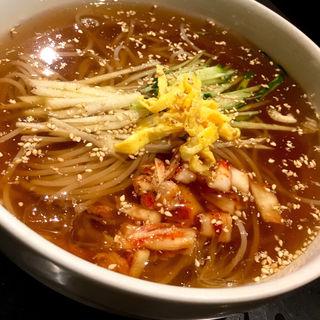 冷麺(パジョン)