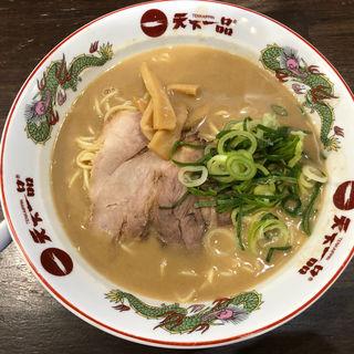 ラーメン こってり 麺大盛(天下一品 堅田店 )