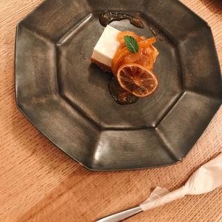 豆腐のレモンチーズケーキ(ブラウンライス (BROWN RICE))