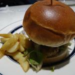 nick's熟成肉ダブルバーガー