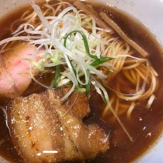 鶏清湯ラーメン 醤油(麺屋 一刃)
