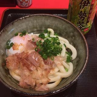 伊勢うどん+温泉玉子(伊勢うどん専門店 いなむら)