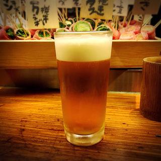 生ビール(博多串焼き・野菜巻き工房 ごりょんさん 渋谷店)