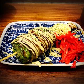 名物レタス巻き(ソース)(博多串焼き・野菜巻き工房 ごりょんさん 渋谷店)