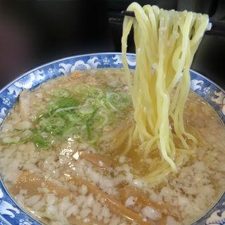 背油塩ラーメン(ゆきみ家 (ゆきみや))