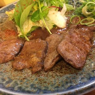 ミンククジラ生姜焼き(EBISU (エビス))