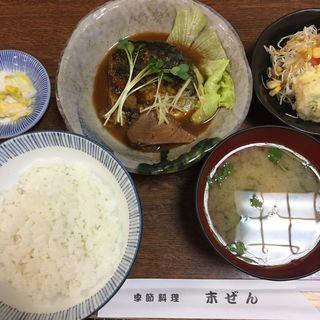 さば味噌煮定食(末ぜん (スエゼン))