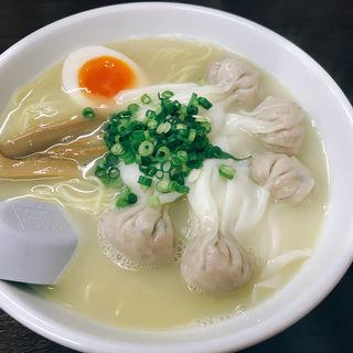 鶏白湯塩ワンタン(麺8-34)
