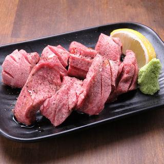 牛タン塩(焼肉・ホルモン料理 とらじ亭 上野本店)