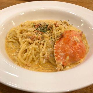 渡り蟹のクリームソース(ポポラマーマ イズミヤ神戸玉津店 (PoPo La MaMa))