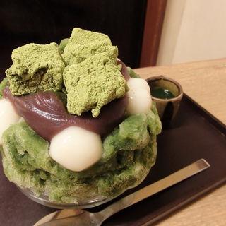 宇治志るこ氷(梅園 河原町店)