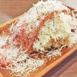 雪のポテトサラダ(串焼きバル mansun 池袋東口店)