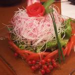 梅風味のささみサラダ