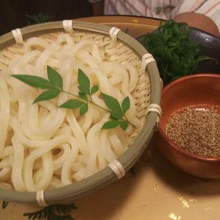 すき焼き〆のうどん(地鶏と個室居酒屋 近松 秋葉原店)