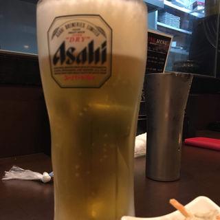生ビール(中)(炭火・串焼きボンちゃん)
