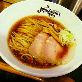 生醤油そば(らーめんstyle JUNK STORY (ラーメンスタイルジャンクストーリー))