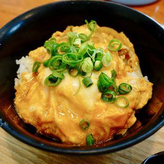 カツ丼(ミニ)(うどんば しん)