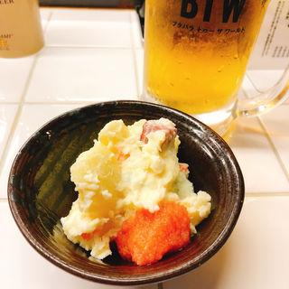 明太ポテトサラダ(ブタバラ トゥー ザ ワールド)