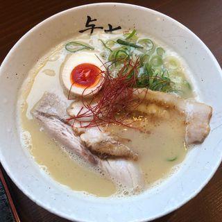 クリーミー鶏白湯(期間限定)(与七 )