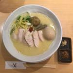 鶏白湯SOBA並 特製仕様(銀座 篝 Echika fit 銀座店 (ギンザ カガリ))