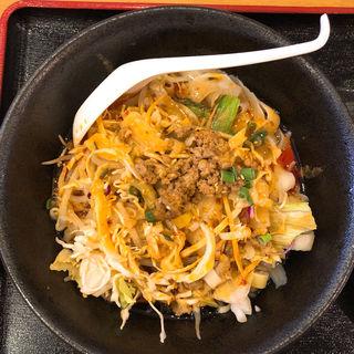 汁無し刀削麺(唐福 (トウフク))