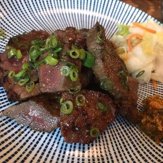 ネギ味噌牛たん定食(炭焼牛たん東山 仙台本店 (【旧店名】 うまい牛たん東山))