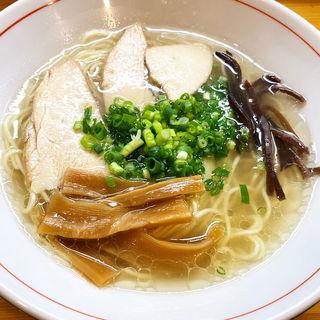 塩ラーメン(麺屋とも)