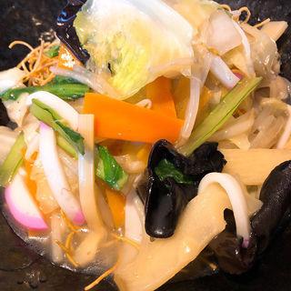 野菜たっぷりうどんとチキン南蛮定食(咲くら 大宮店)
