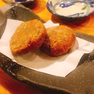 里芋揚げ(地酒と地産料理 花咲)