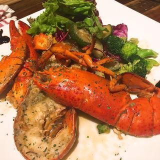 オマール海老のバターソース(Shrimp Dining EBIZO 北千住)
