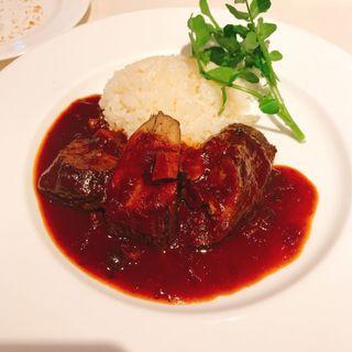 牛肉の赤ワイン煮(オザミ・デ・ヴァン 本店 (AUXAMIS des Vins))