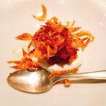 卵と桜海老の和え物