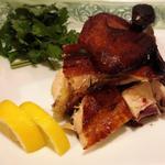 鶏のパリパリ香味焼き(半羽)