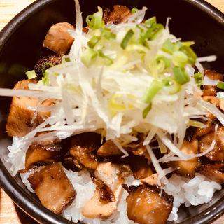 ちゃーしゅー丼(焼きあご塩らー麺 たかはし )