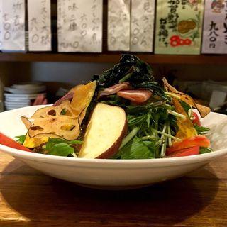 加賀野菜サラダ(はす家)