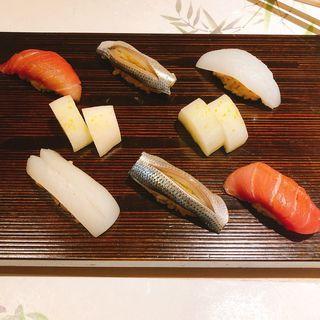 寿司3貫(鮨 青海)