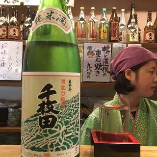 能登誉 純米酒 千枚田(はす家)
