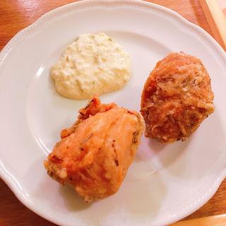ハーブフライドチキン タルタル添え(麺屋シマフクロウ )