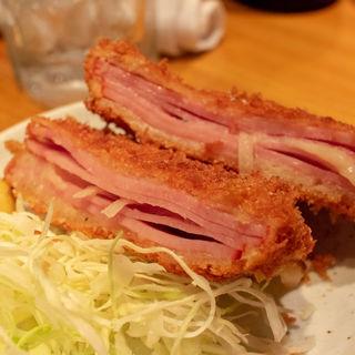 ポテドサラダハムカツ(立飲み カドクラ )