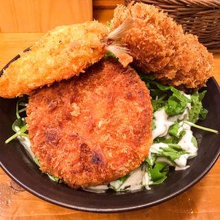 フライ定食(きっちん大浪)