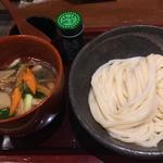 鴨汁つけうどん(麺冷)