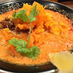 カレー風味 担々麺