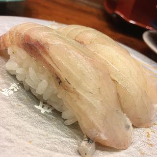 石川県産すずき(もりもり寿司 近江市場店)