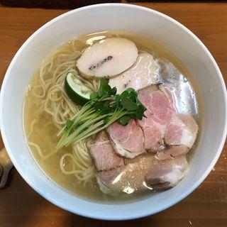 鶏と魚の淡麗 冷(麺屋 一刃)