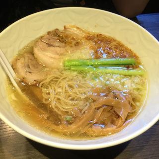 塩らぁ麺(支那そばや本店 )
