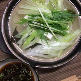 湯豆腐(ちどり )