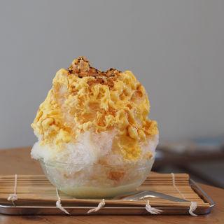 プリンのかき氷(菓子・茶房 チェカ (cheka))
