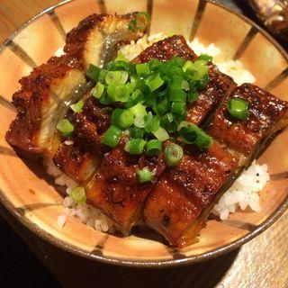 燻製鰻丼(燻製バル モトカラ)