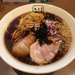 東仙台ブラックラーメン(細麺)(自家製麺 麺屋 翔)