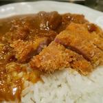 ロース豚カツカレー(カルダモン. )